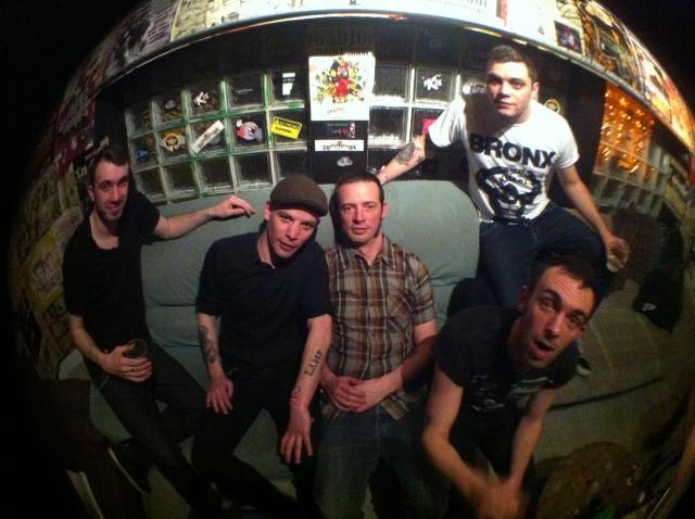 Band Picture @Molodoi Strasbourg 11/04/2013