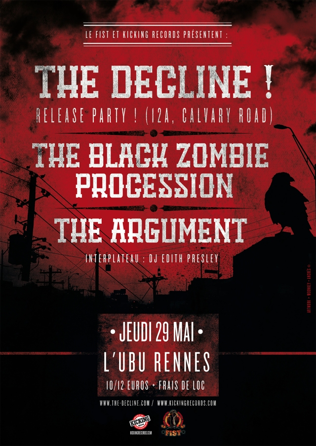 THE DECLINE! 12A CALVARY ROAD RELEASE PARTY !